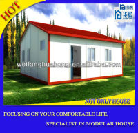 2015 earthquake proof Chile Modern Cheap Prefab Homes New Fast House Concrete Prefab Light Steel Villa