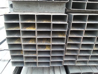 Tianjin square rectangular pipe ! steel hollow rect section welded square tube for construction