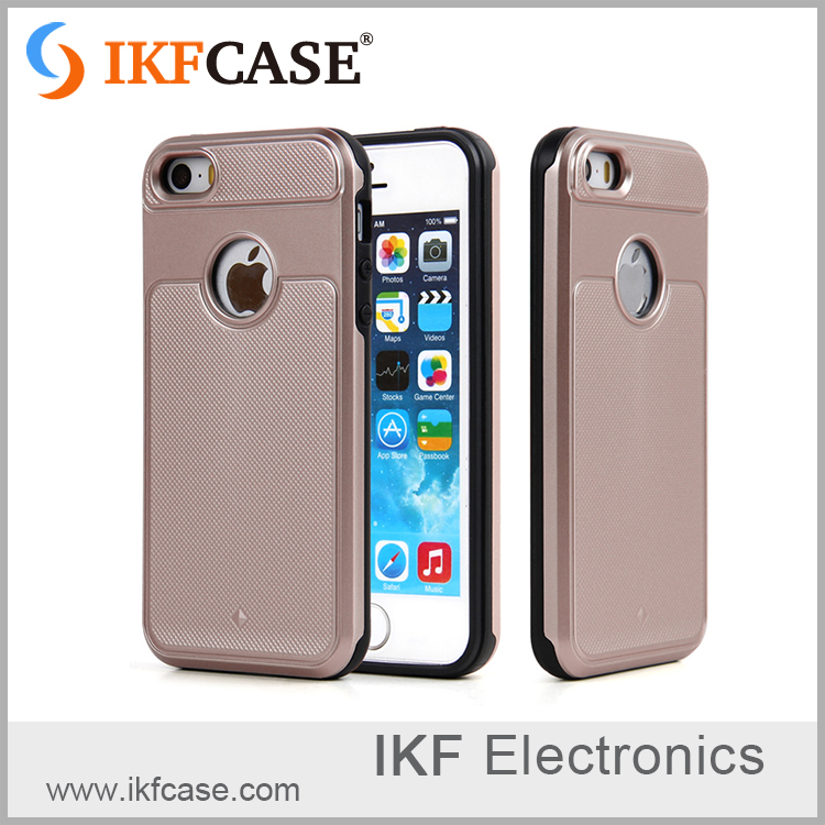 Hybrid TPU + PC phone case for iphone 4/4s