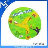 Outdoor sport toys returning boomerang plastic frisbee flying disc