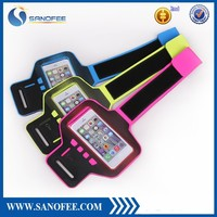 alibaba china Pu Leather Sport Armband For Iphone 6 sports arm band