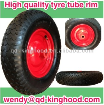 "16"" Air Rubber Wheel -- Wheel barrow Wheel"