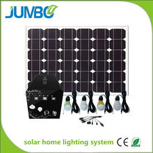 solar energy product with LED lights solar system power for home