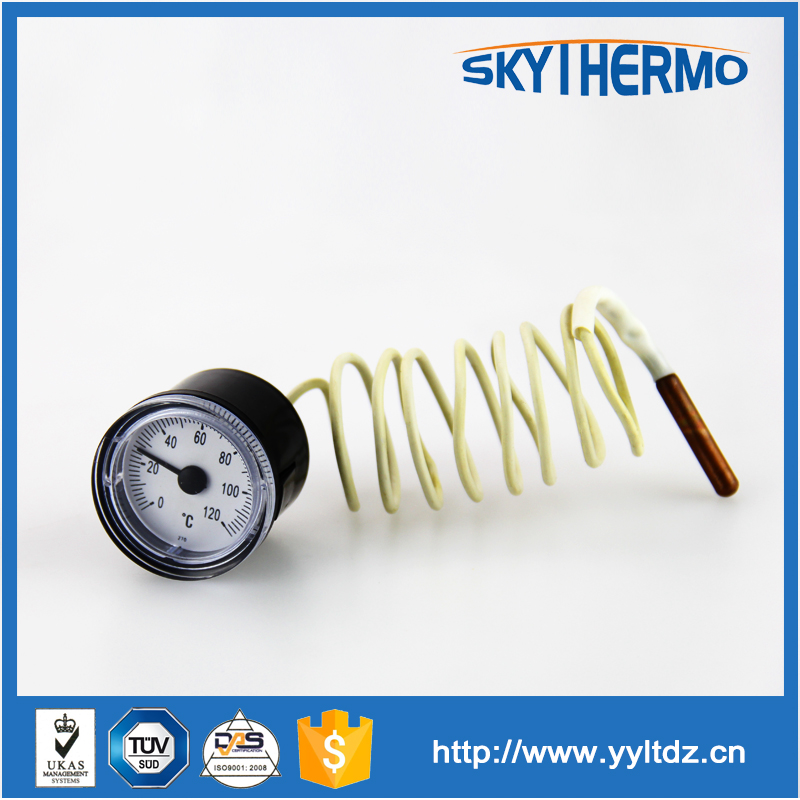 plastic case ningbo industry thermometer with capillary tube
