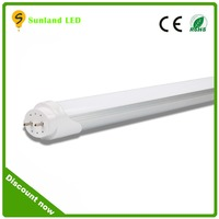 2016 hot sale ce rohs china factory price 600mm 900mm 1200mm 1500mm t8 led tube 1200lm high bright 18w 1200mm led t8 tube