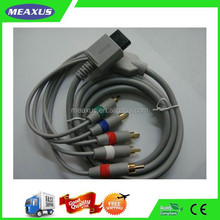 PVC AV (Audio/Video) Signal Cable for Consoles, Color Component Signal Transmission to TV