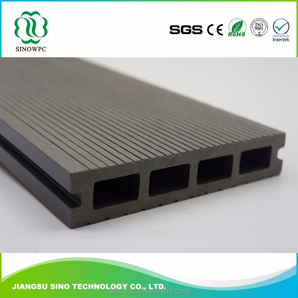 waterproof wood plastic composite floor , eco-friendly and low maintenance WPC