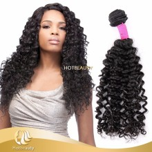 tight curl weaving human hair Brazilian Deep Wave aliexpress hair for braiding