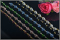High quality Crystal glass beads strand