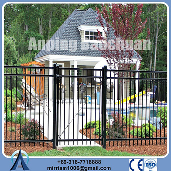 "Factory Price security 60"" sterling ornamental iron fence"