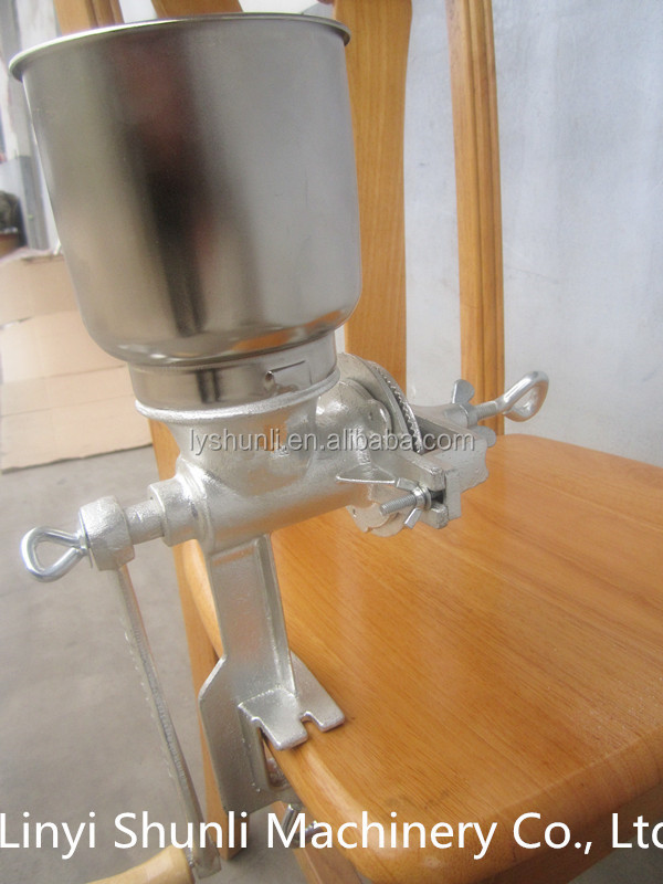 manual cast iron corn grinder 500# grits mill machine