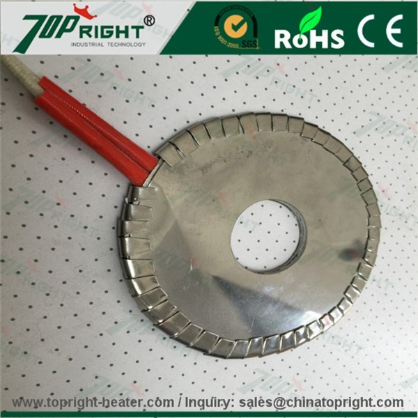 Extruder mica heater ring band heaters