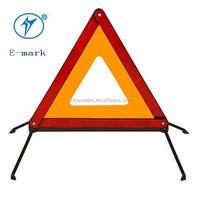 auto reflector triangle with e-mark