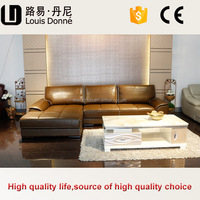 Hotle use fashion leather divan chair