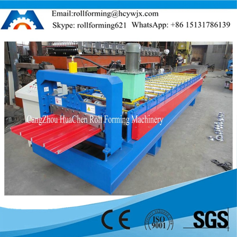 Color Steel Galvanized Metal Roof Sheet Molding Machine High Quality Low Price