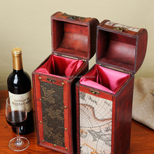 Wholesale Cheap Custom Old Wooden Wine Boxes For Sale