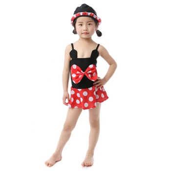 wholesales girls toddler baby swimsuit summer beach outfit girls minnie inspired swimsuit