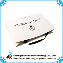 custom full color printing packaging smart shopping paper bag with CMYK printing