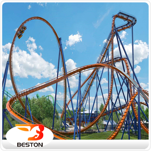 Cheap thrilling ride spinning used roller coasters for sale