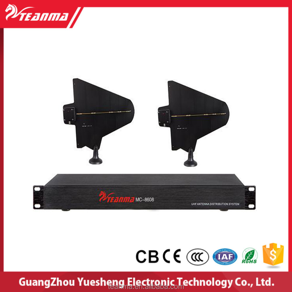 MC-8608 UHF Antenna Distribution System for Wireless Conference System