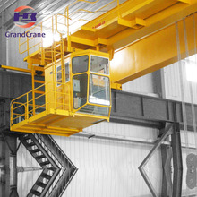 Rail Mounted Electric Trolley Overhead Crane Workshop Using