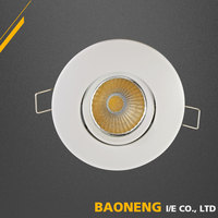 Modern Daylight LED Recessed Concrete LED Ceiling Light With 3000K-6000K Color