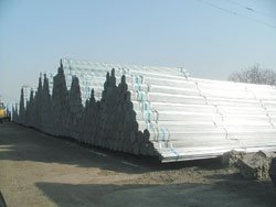 Hot dip galvanized round bar
