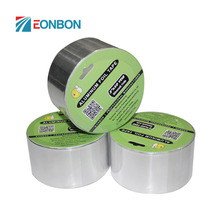 Free Samples Waterproof Self Adhesive Silver Fireproof Aluminum Foil Tape