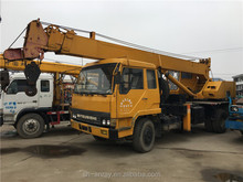 12 ton used Tadano QY12HK truck mounted crane, 12 ton mobile crane, tyre crane for sale