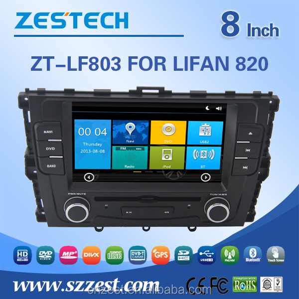 Autoradio with GPS for Lifan 820 car dvd player multimedia