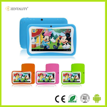 7 inch Q88 Allwinner A33 Quad Core 8GB Android 4.4 Kids Tablet with HD Screen Dual camera WIFI