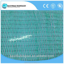 Blue Whale Brand twine rope plastic fishing net With Stable Quality