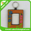 promotioal gifts cheap 3d pvc rubber photo frame keychain