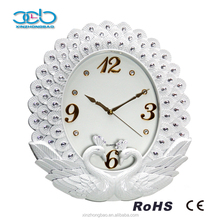 Various Styles Innovative Peacock Diamond Clock