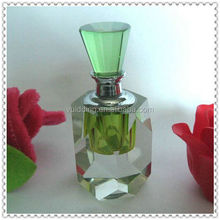 Light Grass Crystal Oil Bottle For Holiday Company Keepsake