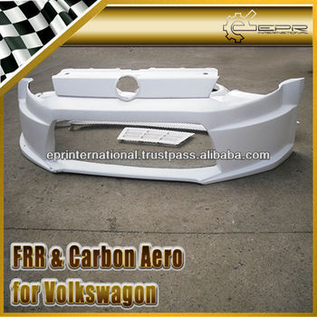 For Volkswagon Polo 6 CTCC Racing Style Fiber Glass Wide Arch Front Bumper Body Kit