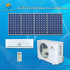 ACDC only cooling capacity 18000 BTU 24000 BTU 90% saving best cost solar air conditioners Canada
