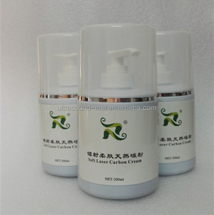 Soft laser carbon cream skin whitening carbon powder for laser beauty machine use