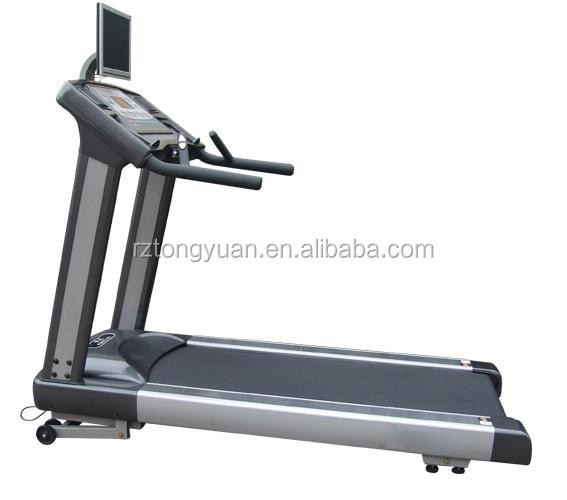 3.5 HP commercial treadmill with TV