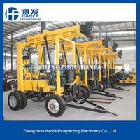 Drilling rigs manufacturer!stone killer ! HF-3 hydraulic small bore well drilling machine