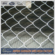 China wholesale cheap hot sale diamond netting fence PVC coated high quality galvanized used chain link fence gates