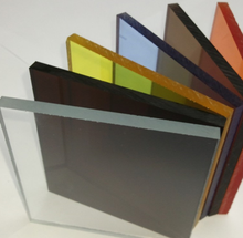 transparent black plexiglass acrylic sheet scratch resistant