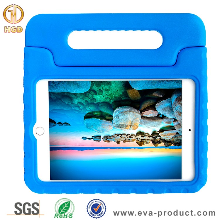 For ipad mini 4 kids case eva foam handle tablet case shockproof