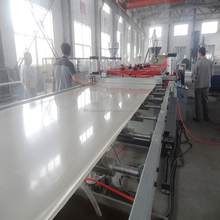 CE CERTIFICATED PVC WPC board machine with online lamination for making furniture panel