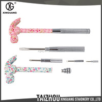 New Developing High Quality 6 in 1 metal floral safety hammer
