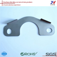 custom sheet metal fabrication of duct mounting bracket as your drawings