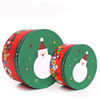 Christmas Gift Boxes Sock Paper Cylinder