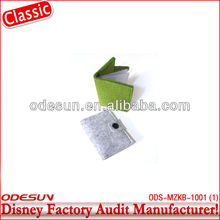 Disney factory audit manufacturer's wool felt bag 143311