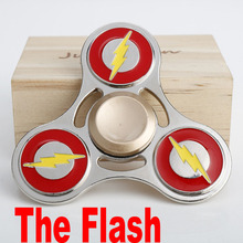 2 days delivery zinc alloy the flash superman ironman hand spinner dubai as New Year's Day gift