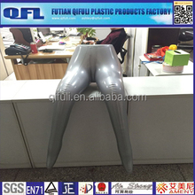 Special Inflatable Female Leg Mannequin,Sitting Inflatable Female Model For Display
